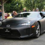 Lexus LFA Black