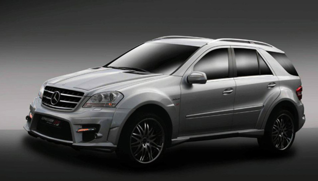 Mercedes ML 63 AMG Expression Motorsport