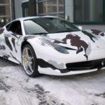 Ferrari 458 Italia Camouflage