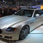 Maserati Quattroporte Awards Edition w hali Palexpo