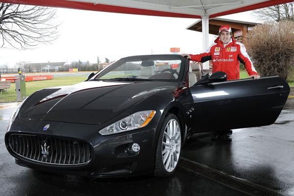 Maserati GranCabrio dla Alonso