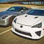 Lexus LFA vs Nissan GT-R