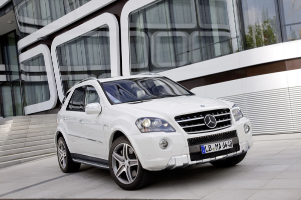 Mercedes ML63 AMG 2011MY