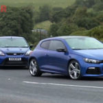 VW Scirocco R vs Ford Focus RS