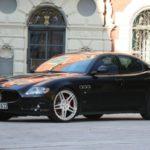 Maserati Quattroporte od Novitec Tridente