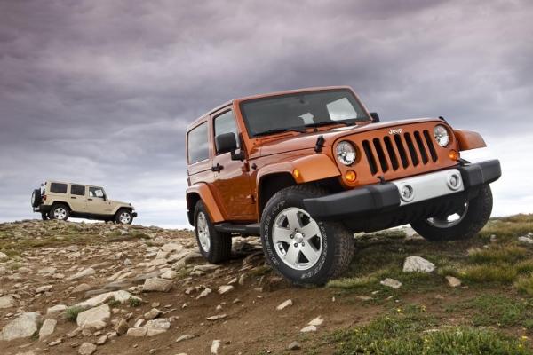 Jeep Wrangler 2011MY