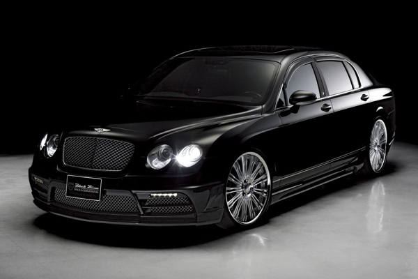 Bentley Continental Flying Spur Wald