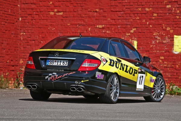 Mercedes C63 AMG Dunlop Performance Wimmer RS