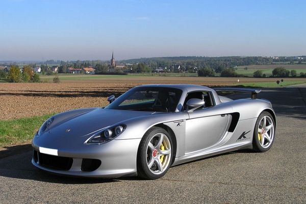 Porsche Carrera GT Kubatech