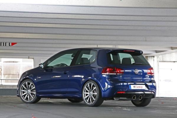 Volkswagen Golf R MR Car Design