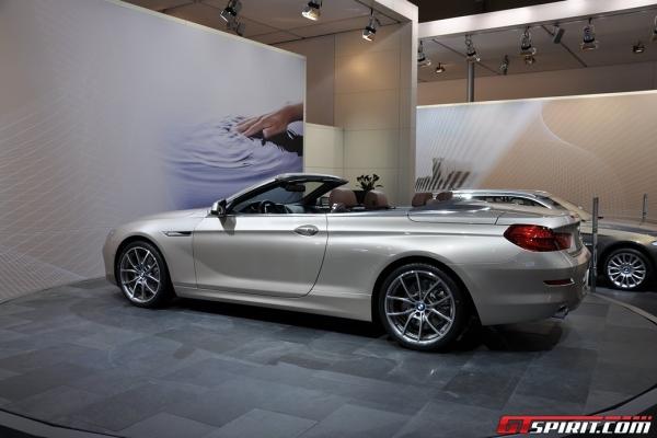 BMW 640i Convertible