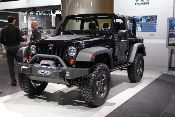 Jeep Wrangler Black Ops Edition