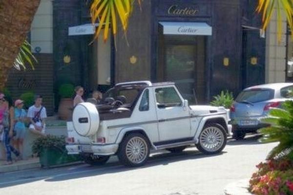 Mercedes G Louis Vuitton Edition