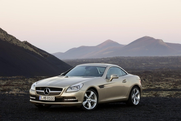 Mercedes SLK 2012MY