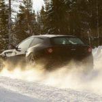 Ferrari FF na śniegu