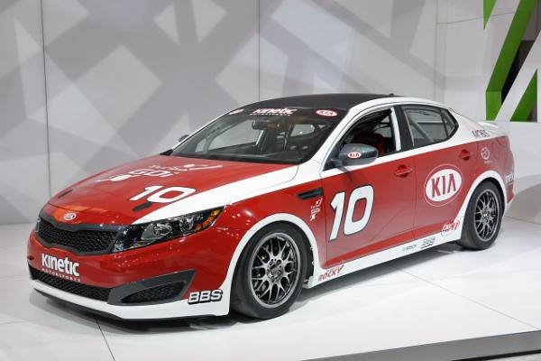 Kia Optima Kinetic Motorsports