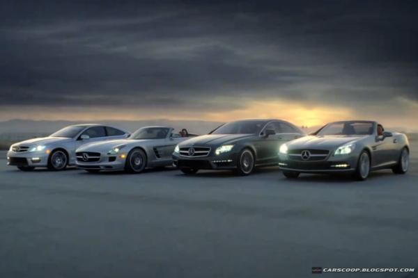 Reklama Mercedesa na Super Bowl