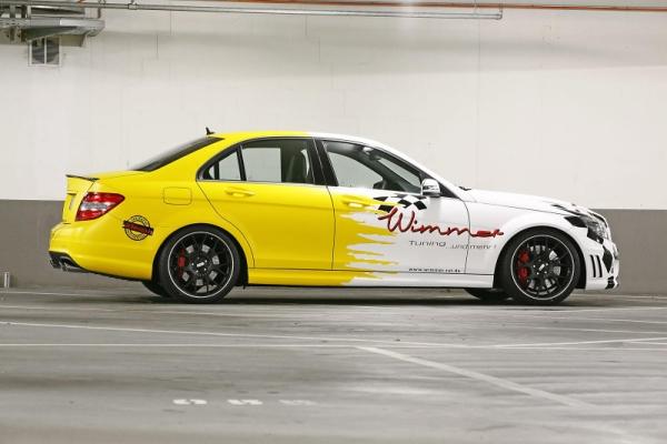 Mercedes C63 AMG Wimmer
