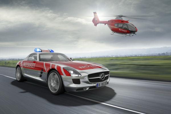 Mercedes SLS AMG Emergency Vehicle