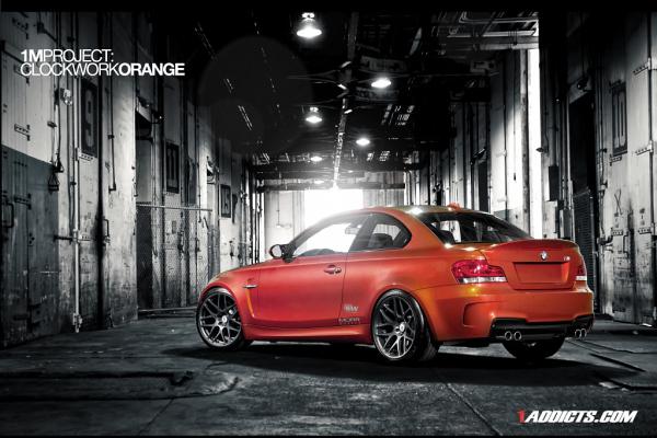 BMW 1 M Coupe Clockwork Orange
