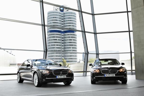 BMW 760Li The Charles Hotel