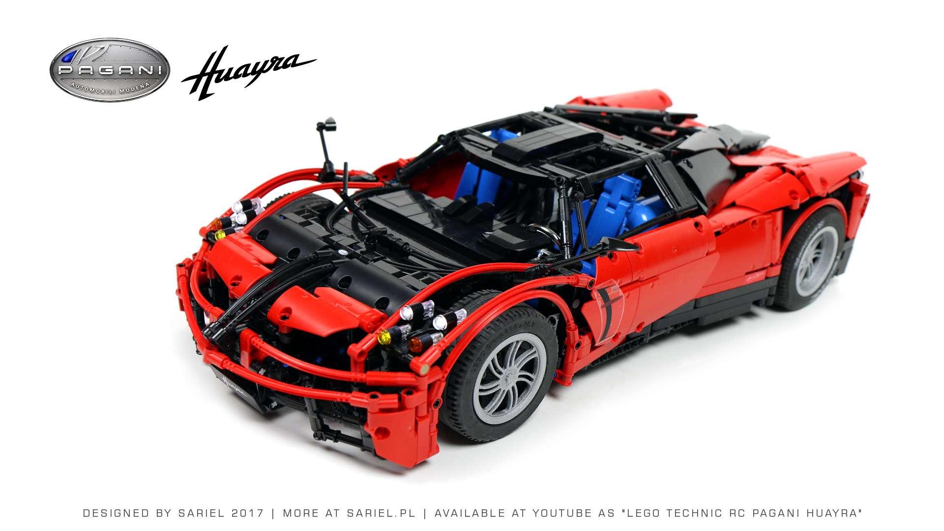 Lego Technic RC Pagani Huayra - Auto-Blog.pl