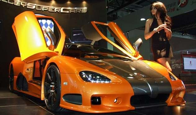 2009 SSC Ultimate Aero TT