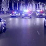 Supersamochody policji w Dubaju
