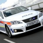 Policyjny Lexus IS-Force