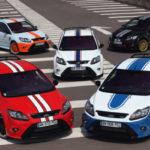 Pięć niezwykłych Focusów RS