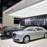 Na zakończenie targów – Rolls Royce Bespoke