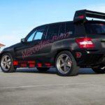 Mercedes GLK Pikes Peak od RennTech