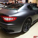 Matowoczarne Maserati GranTurismo MC Stradale